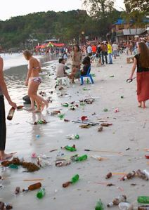 Marine Garbage Dumping and Beach Pollution