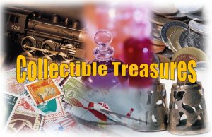 Collectible Treasures by Kym Gordon Moore