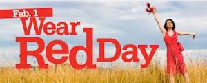 Wear Red Day From Behind the Pen