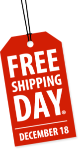 national free shipping day, free shipping, free shipping day