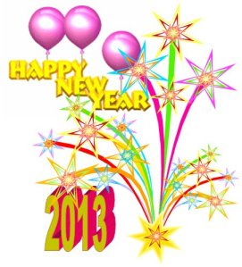 Happy New Year 2013 - Kym  G. Moore