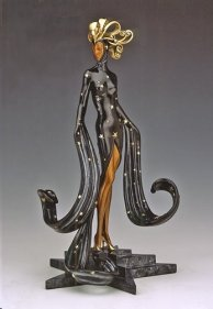 Erté Sculpture, Erté Designs, Erté Fashions, Martinlawrence.com