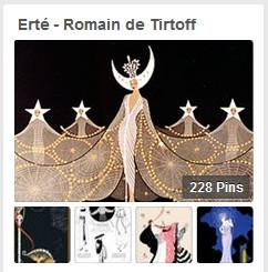 Erte, Pinterest, Romain de Tirtoff