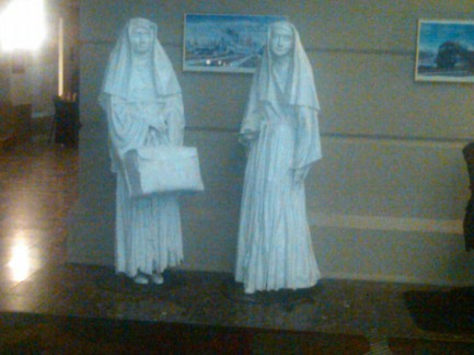 Ghost People, Nuns, Crowne Plaza Hotel