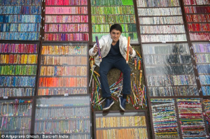 Tushar Lakhanpal, Indian Pencil Collector, Indian Limca Book of Records