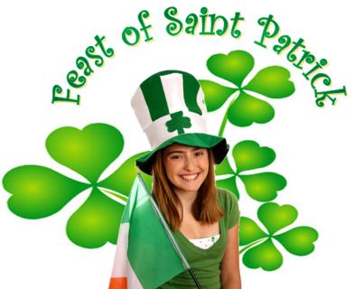 Feast of St. Patrick, St. Patrick's Day, Wearing Green, Irish Holiday, Leprechaun