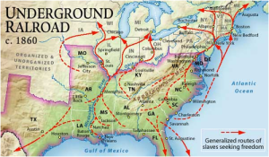 Underground Railroad, Harriet  Tubman, Freed Slaves, Underground Network