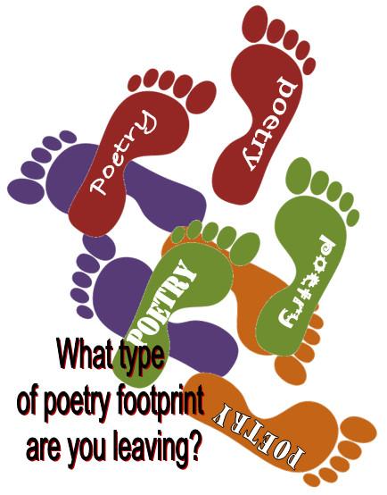 Poetry, National Poetry Month, Poetry Footprint