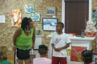 Poetry Workshop for Kids, Poetry Workshop, Kym Gordon Moore, Indian Trail Cultural Arts Center, Myles McKenzie