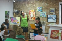 Poetry Workshop for Kids, Poetry Workshop, Kym Gordon Moore, Indian Trail Cultural Arts Center, Natalie Wallace