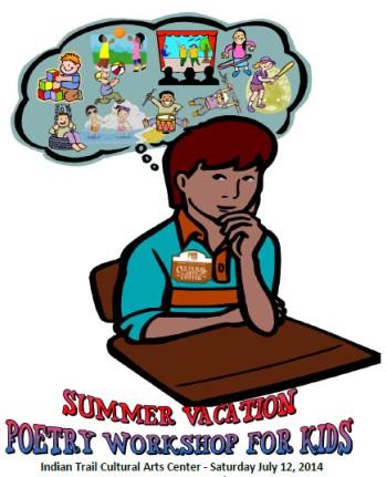 Poetry Workshop for Kids, Poetry Workshop, Summer Poetry Workshop