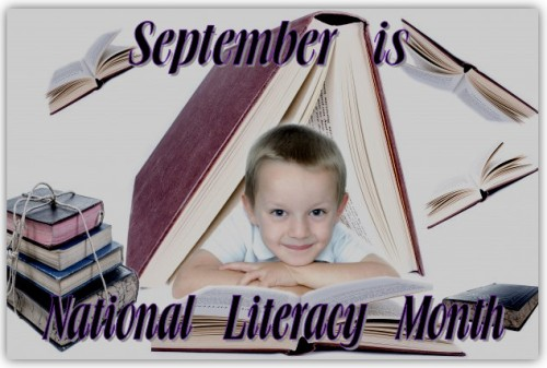 September is National Literacy Month, From Behind the Pen, National Literacy Month
