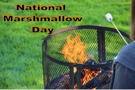Marshmallows, National Marshmallow Day, S'mores, Toasted Marshmallows