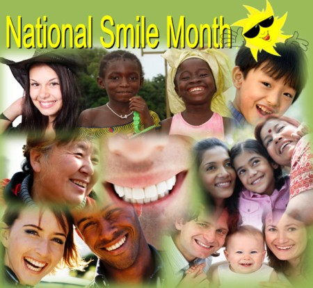 National Smile Month, Smiling, Smile