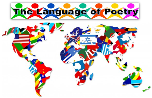 language of poetry, poetic patois, poetry, from behind the pen