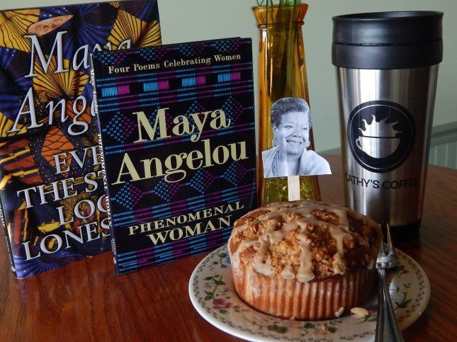 Poet in a Coffee Shop, Coffee with Maya Angelou