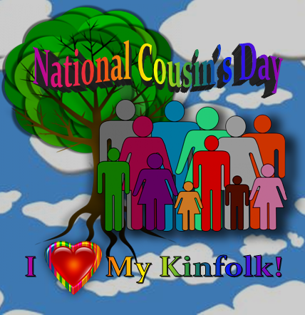 National Cousin's Day, Family, Cousins, From Behind the Pen