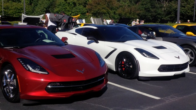 Queen City Car Show, Corvettes, Chevrolet