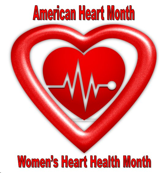 Women's Heart Health Month, American Heart Month, American Heart Association
