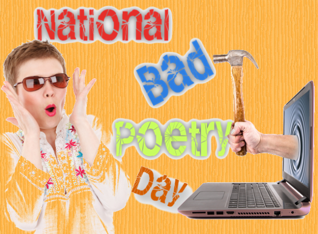 National Bad Poetry Day, Poetry, American Poetry, From Behind the Pen