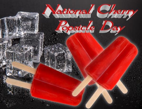 Popsicle, National Cherry Popsicle Day, From Behind the Pen