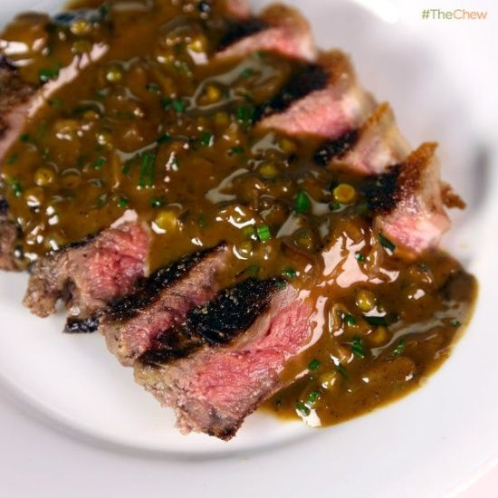 Food Porn, Steak au poivre , Foodie, Mario Batali