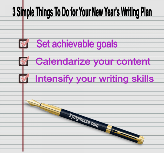 writing, writing goals, writing plan