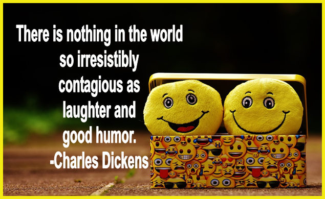 Happiness, Charles Dickens, Laughter, From Behind the Pen
