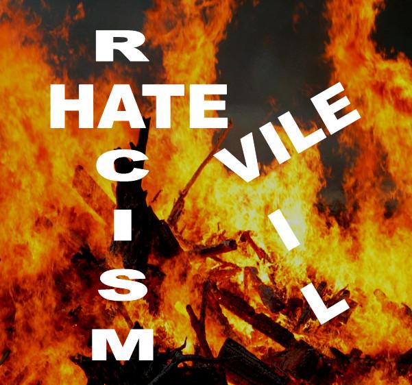 Racism, Terrorism, Hatred, Sin