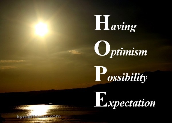 Hope, Expectation, Desire, Possibility, Optimism