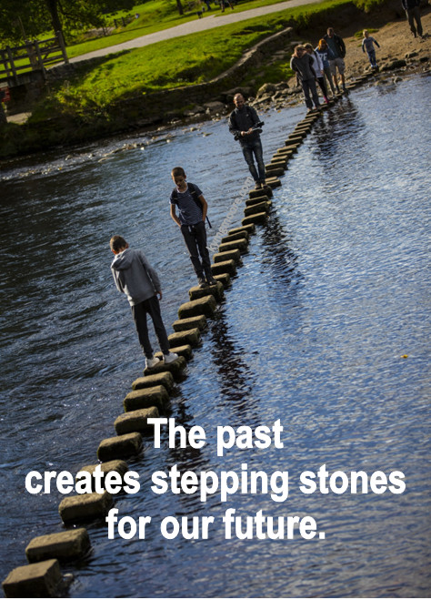 Past, Present, Future, Stepping Stones