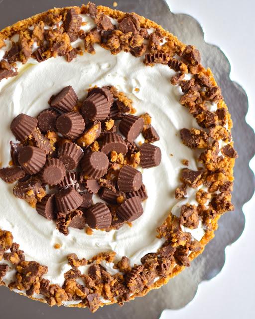 Peanut Butter, yammiesnoshery.com, Deep Dish Peanut Butter Pie, Peanut Butter Lovers Month