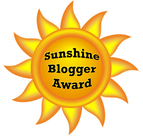 Sunshine Blogger Award, From Behind the Pen, Writing