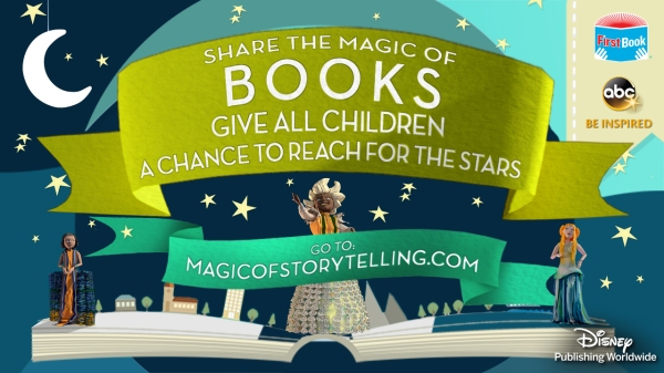Magic of Storytelling, Shelfie, First Book, Disney