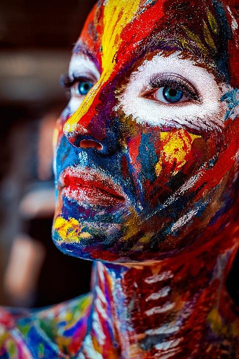 Paint, Art, Body Painting