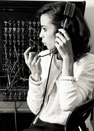telephone operator, automated answering service
