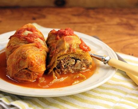 Gołąbki, Polish Cuisine, Stuffed Cabbage Rolls, Food Porn Friday